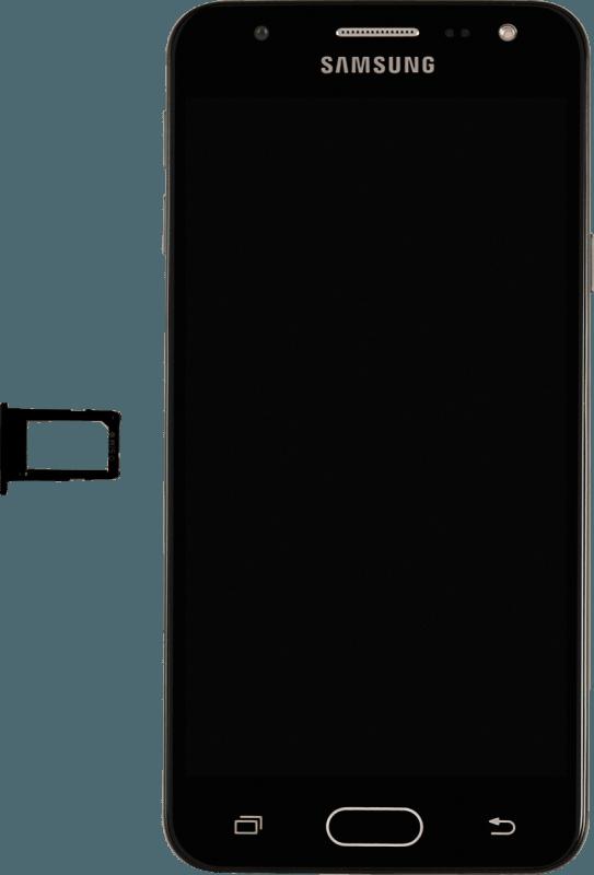 62757b7da59 Cómo colocar el chip en el celular | Samsung Galaxy J5 Prime ...