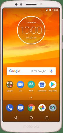 d65c794937d Cómo hacer una captura de pantalla con el celular   Motorola Moto E5 ...
